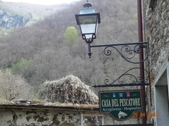Antico Borgo Isola Santa: Vista externa