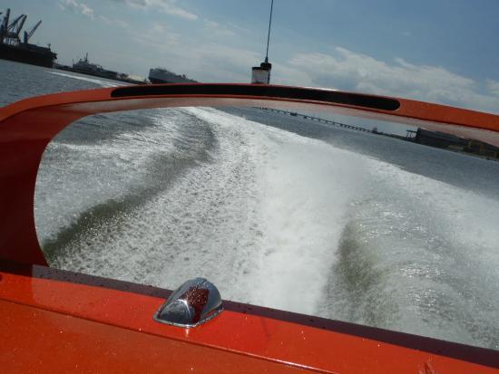 Galveston Water Adventures: Jet Boat Wake