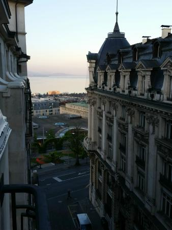 Hotel de la Paix: View from room