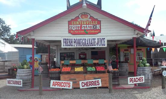 Sanger, CA: Centerville Fruit Station