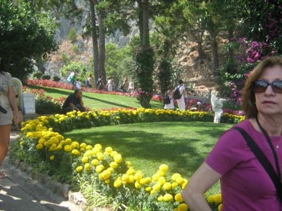 Los canteros de flores del jardin de augusto picture of for Canteros de jardin