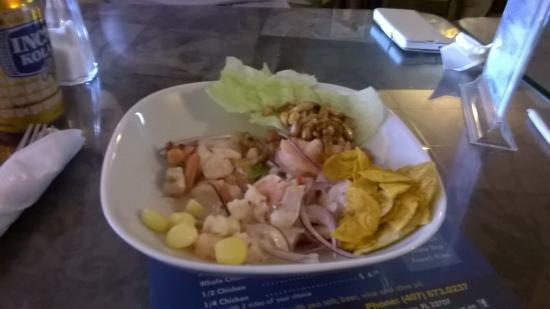 El Buzo Restaurant: Ceviche
