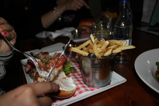 The Pepys : Fully Loaded Burger