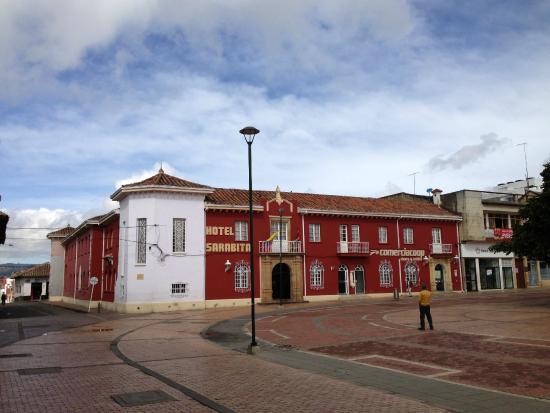 Chiquinquira, Colombia: HOTEL SARABITA ...TEL. 8 7262079