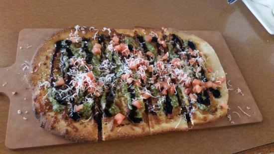 Margarita Flatbread Boston Pizza