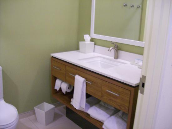 Home2 Suites By Hilton Huntsville Research Park Area Bathroom Vanity