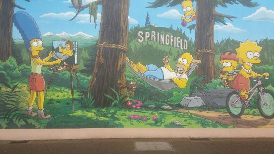 prove the simpson live in oregon picture of the official simpsons