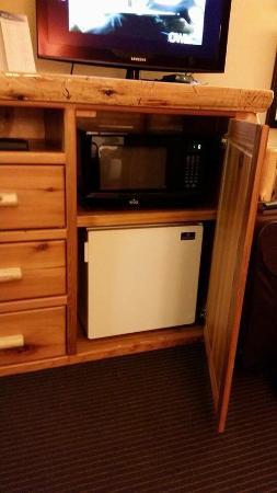 AmericInn Lodge & Suites Pequot Lakes: Mini refrig, and microwave