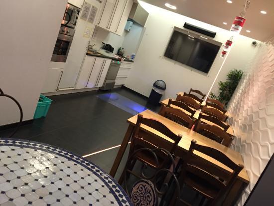2Go4 Grand Place: cozinha para uso dos hóspedes