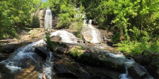 Twin Falls/Eastatoe Falls