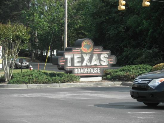 Texas Roadhouse : sign