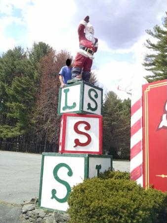 Santa's Land: Hanging with Santa