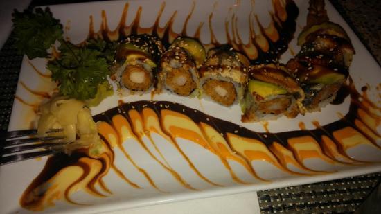 Dragon Maki Picture Of Sip Wine Bar And Kitchen Boston