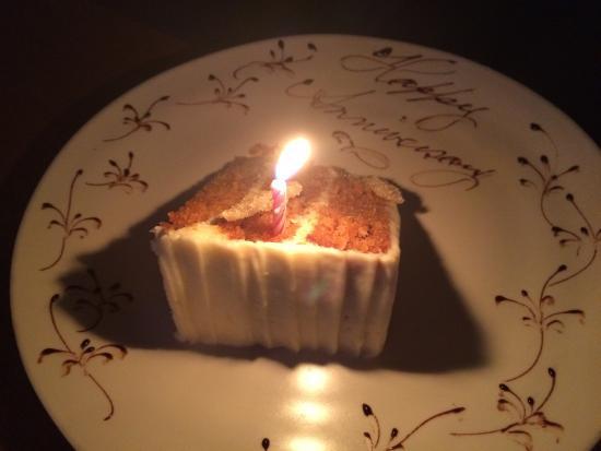 Pound Ridge, NY: Our anniversary carrot cake