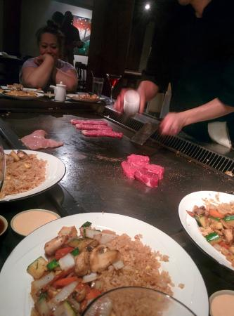 4b91909016d Hibachi steak   filet mignon - Picture of Kobe Japanese Steaks and ...