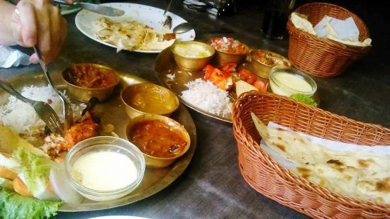 Spice Garden Restaurant : Forget which set menu we order, but it is from Set menu range