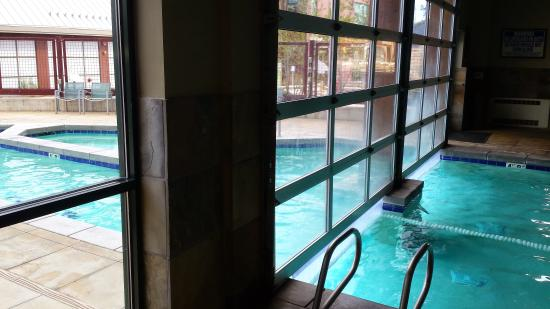Indoor/outdoor pool - Picture of Newpark Resort & Hotel, Park City ...