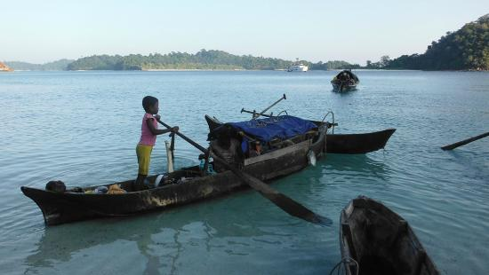 Mergui Archipelago : Moken's traditional boat