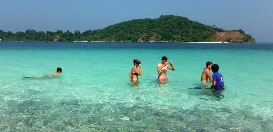 Mergui Archipelago : snorkeling at 115 island