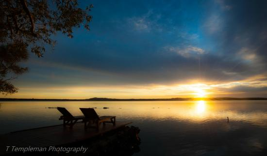 Eumarella Shores Noosa Lake Retreat: The jetty