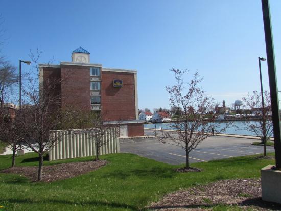Side Of Hotel And Harbor Picture Of Wyndham Garden Kenosha Harborside Kenosha Tripadvisor