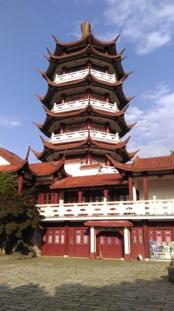 Sanming, China: I guess this is what is called the Unicorn. Looks like a pagoda to me !!