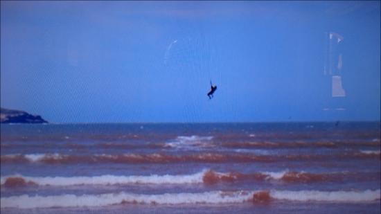 Bleukite Essaouira: après 1 cours avec nabil je savais sauter (haut :))