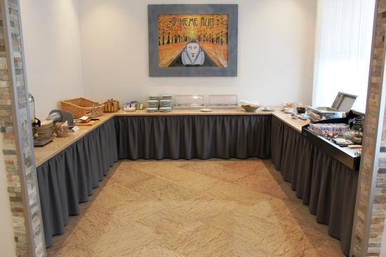 Hotel Luna : Breakfast buffet