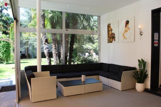 Hotel Luna : Lounge corner