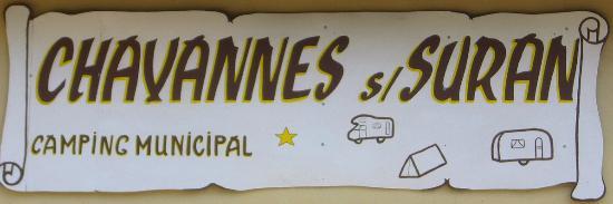 Chavannes-sur-Suran, فرنسا: Camping municipal de Chavannes sur Suran