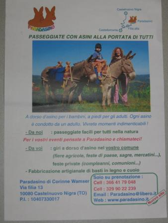 Castelnuovo Nigra, Italien: Locandina Paradasino