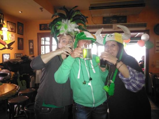 The Dublin: Saint Patrick's day in MYKONOS DUBLIN Coffee-Restaurant