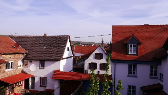Weinstube Zur Angela-Gastehaus: view from upper rooms