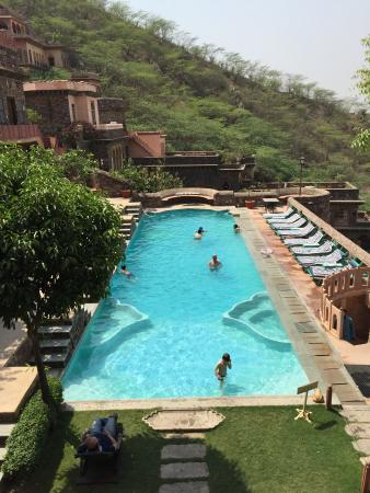 Pool - Neemrana Fort-Palace Photo