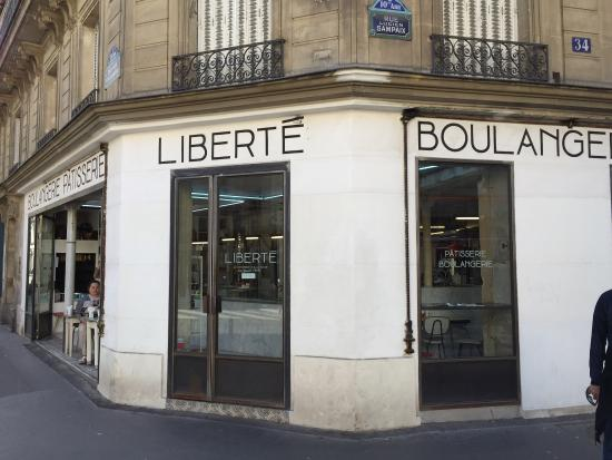 Photo of French Restaurant Liberte Patisserie at 39 Rue Des Vinaigriers, Paris 75010, France
