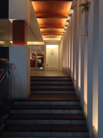 HOTEL THE Grandee: ホテルのエントランス