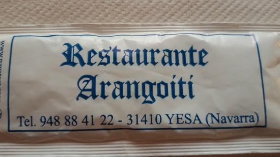 Hostal Restaurante Arangoiti