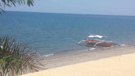 White Castle Beach Resort : view from 2nd floor