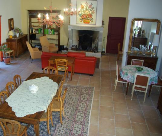 La Bastide du Roy: Salle à manger - Salon