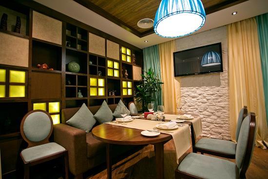 Vip зал picture of korean house restaurant almaty