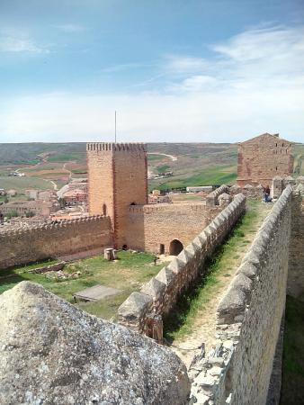 Molina de  Aragon, Spain: On the battlements