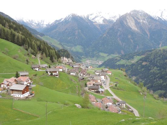 Panoramica Di Stulles Bild Von Hotel Alpenland Moso In Passiria