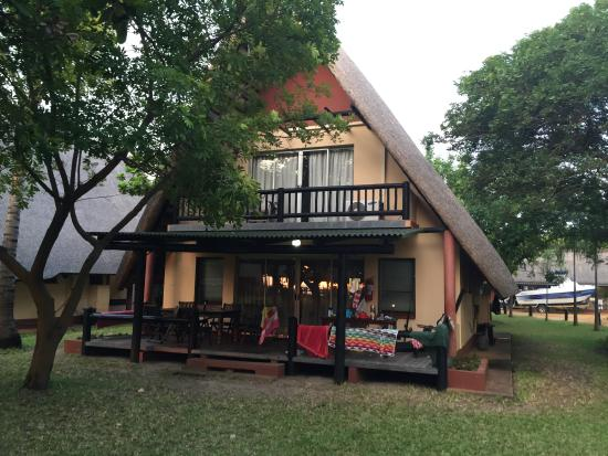 Dugong Mozambique - Inhassoro: The house we stayed in