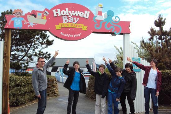 Holywell Bay Fun Park: Ready To Play!