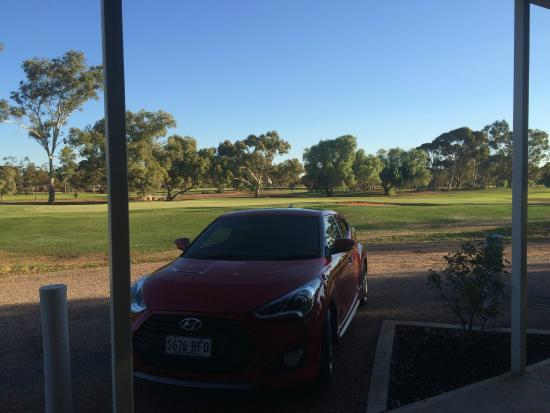 Standpipe Golf Motor Inn: View from the room