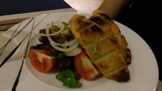 The Diningroom : Platter for starter