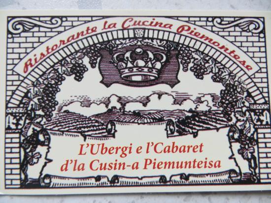 la cucina piemontese - picture of la cucina piemontese, vigone ... - Cucina Piemontese Vigone