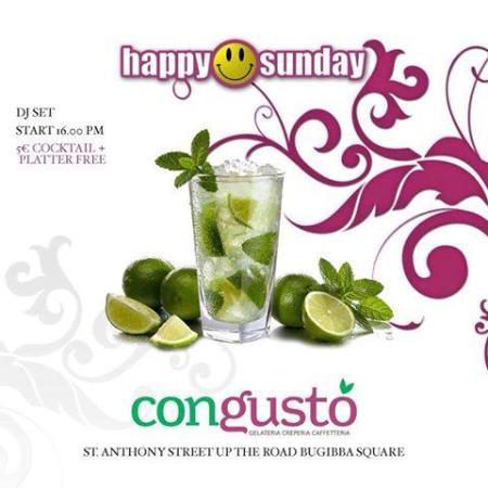 Con Gusto: Every Sunday Happy Sunday