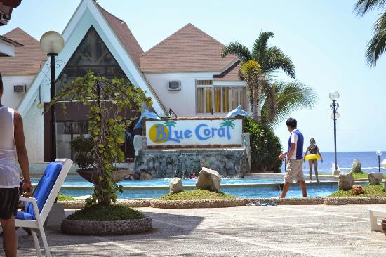 The Beachfront Picture Of Blue Coral Beach Resort Laiya Tripadvisor