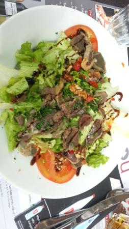 Le Marcou: Salade de gésiers